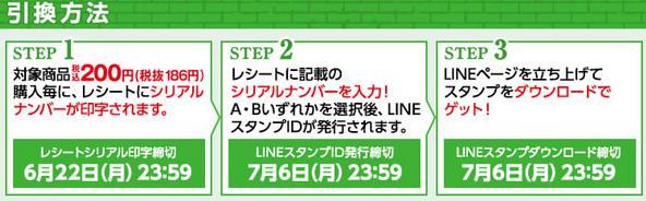 line スタンプ ダウンロード 仕方 シリアルナンバー