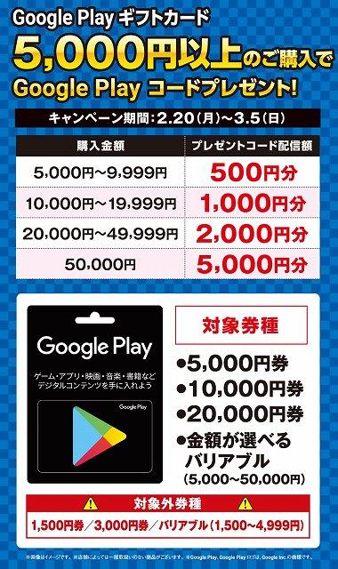 Googleギフトコード無料情報収集