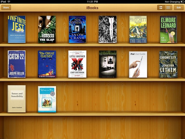 アイチューンズギフトコードiBooks Store