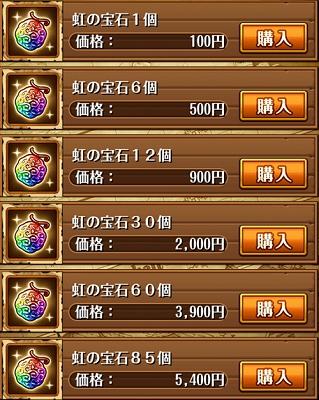 トレクル チート 虹の宝石 課金