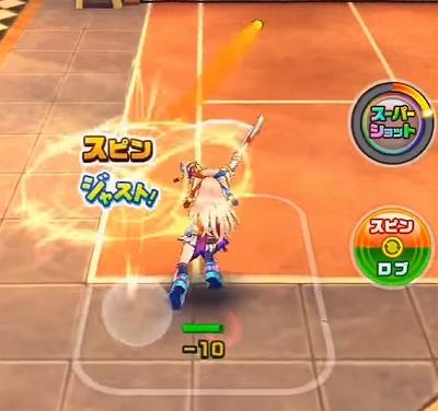 白猫テニス 上達方法 ジャスト
