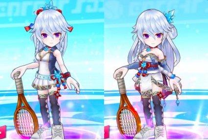 白猫テニス イメチェン 仕方 マフユ