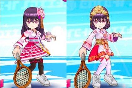 白猫テニス イメチェン 仕方 巫女カスミ