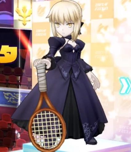 白猫テニス クレー コート ランキング セイバーオルタ