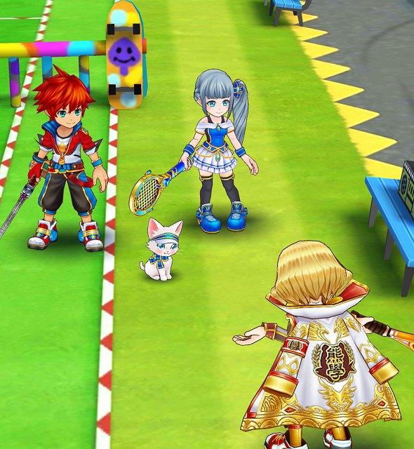 白猫テニス 実績 ジュエル もらえない デモ画面